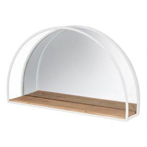 Emporium Summer Dayze Mirror White/Natural 60x13x36cm