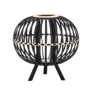 Amalfi Bellos Lantern Black 38x38x37cm