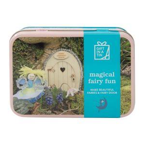 Apples to Pears Magical Fairy Fun in a Tin Multi-Coloured 14.5x10.5x5.6cm