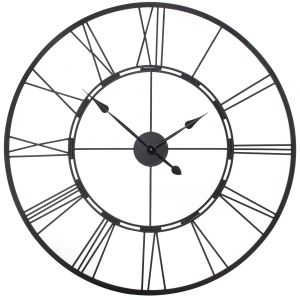 Amalfi Frame Clock Black 101x11x101cm
