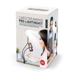 IS GIFT Livestreaming Pro-Lighting Kit  Black