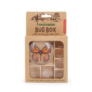 Kikkerland Great Outdoors - Bug Box Wood 11.7x10.8x3.5cm