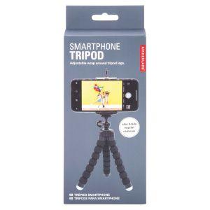 Kikkerland SmartPhone Tripod Grey