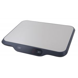 Savannah Maxi Electronic Scale Grey 31x25.5x2.5cm/15kg/1g