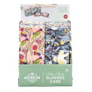 IS GIFT The The Australian Collection Origami Glasses Case-Birds (3Asst/12Disp assorted Rainbow Lorikeet, Kookaburra & Cockatoo Prints