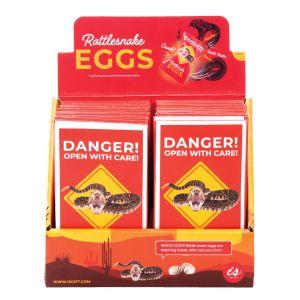 IS GIFT Rattlesnake Eggs  Red