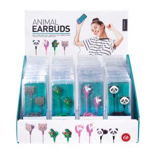 IS GIFT Animal Earbuds  assorted Dinosaur, Unicorn, Panda and Cat. Designed in Australia