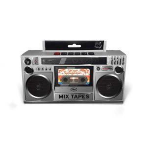 Fred Mix Tapes Cassette Sponges - Set of 4 Multi-Coloured 7.6x11.4x4cm