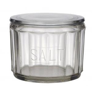 Academy Hemingway Salt Jar Clear 11.5x11.5x8cm