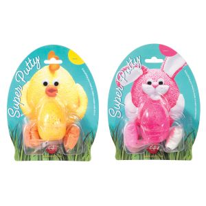 IS GIFT Super Putty Chicks & Bunnies   assorted