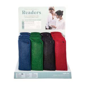 Is Gift Tortoiseshell Readers (4Asst/24Disp) Brown 16x65x3cm