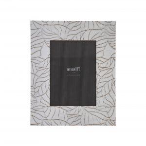 Amalfi Halina 5x7'' Photo Frame White/Black 22x1x27cm