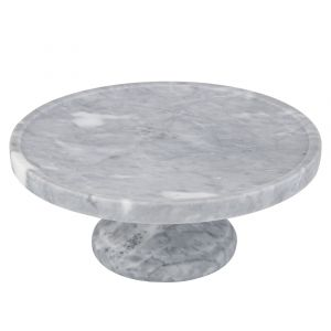 Nuvolo Marble Footed Cake Stand HWSWDT001