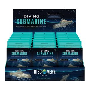Discovery Zone Diving Submarine (18Disp) Grey 12x9.5x3.5cm