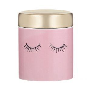 Emporium Lue Trinket Box Pink/Gold/Black 8x8x9cm