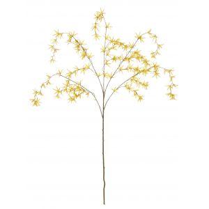 Rogue Cascading Flower Spray Yellow 60x30x105cm