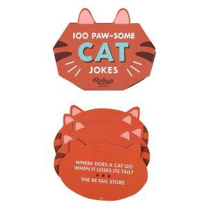 Ridleys 100 Cat Jokes Red