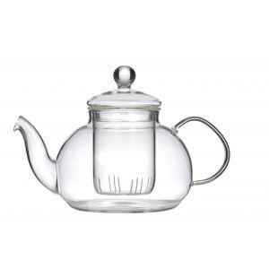 Leaf & Bean Chrysanthemum Teapot with Filter Clear 20x13x13cm/4 cup/800ml