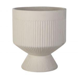Grand Designs Sway Planter Pot Bisque 45x45x50cm