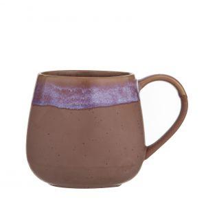 Leaf & Bean Milan Reactive Glaze Mug Pink 9.5x9.5x9.7cm/500ml