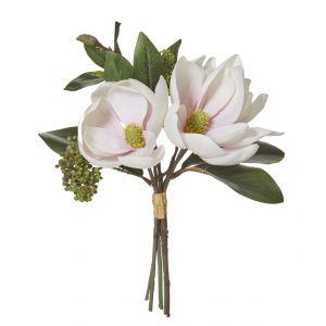 Rogue Magnolia Bouquet Soft Pink 23x23x33cm