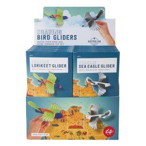 The Australian Collection Soaring Bird Gliders (2Asst/48Disp) Assorted 19.5x10.5x0.5cm