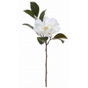 Rogue Grand Magnolia Flower Spray White 31x23x81cm