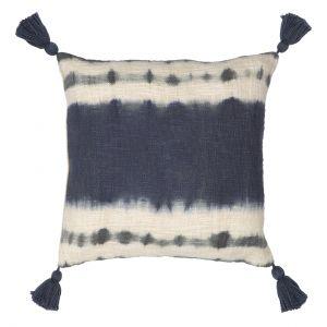 Amalfi Palisades Cushion Blue/White 45x10x45cm