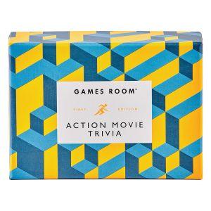 Games Room Action Film Trivia Multi-Coloured 13x9x5.5cm
