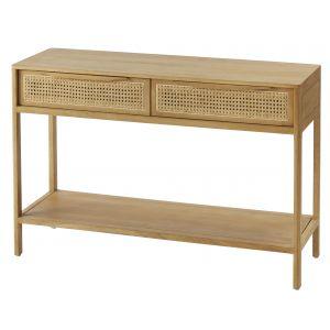 Amalfi Santali Console Table Natural 120x40x80cm