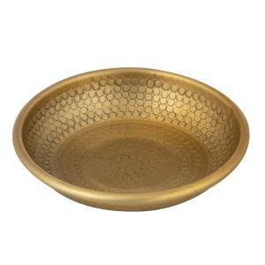 Davis & Waddell Ravi Condiment Bowl Antique Gold 10x10x2cm