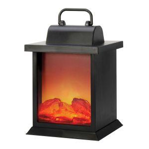 IS GIFT Fireplace Lantern  Black