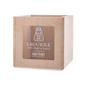 Andre Verdier French Branded Display Box Pâté Beechwood 11x11x11.5cm