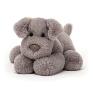 Jellycat Huggady Dog Medium Grey 22x12x12cm