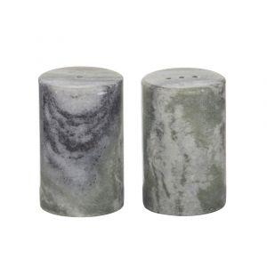 Eden Marble Salt & Pepper Shaker S/2 OTFPAM003