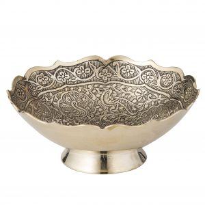 Amalfi Morani Trinket Bowl Brass 13x13x5cm