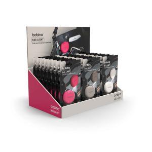Bobino Bag Light  assorted cream, pink & grey