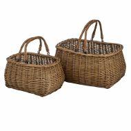 Salinger Market Basket Set/2 ATSTAC004