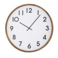 Amalfi Leonard Wall Clock Brown/White/Black 41.5x5.5x41.5cm
