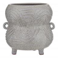 Amalfi Marketti Planter Pot Speckled Grey 22x20.5x19cm
