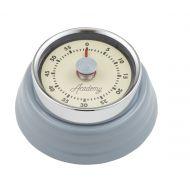 Academy Brontë Mechanical Timer with Magnet Grey/Cream 7.5x7.5x3cm/60 Minutes